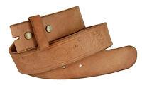 "Genuine Leather Full Grain Casual Jean Belt Strap, 1-1/2"" Wide"
