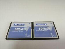2PCS 1GB Advantech SQFlash Industrial Grade Compact Flash CF CARD Drive