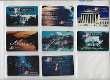 TK Telefonkarte/Phonecard USA Amerivox Monument Serie 8 Karten R21-8 Auflage5000