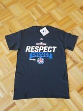 100% Authentic Majestic Chicago Cubs Short Sleeve Shirt Men  S  New!