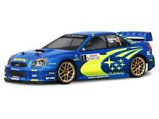 HPI SUBARU IMPREZA WRC 2004 RALLY (200MM/WB255MM) Unpainted Body NEW HPI-17505