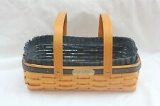 Longaberger Collectors Club 2001 Gathering Basket With Liner And Protector