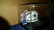 Troy Aikman Autographed Signed Dallas Cowboys Back 2 Back Champion Hat COA!