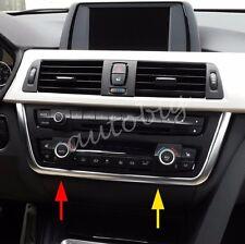 Dashboard Radio Switch Cover For BMW F30 F31 F34 F32 F33 F36 Interior Trims