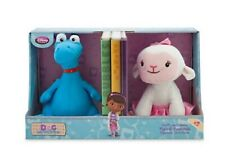 Disney Doc McStuffins Lambie & Stuffy Figural Bookends Weighted Plush Room Decor