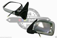 TOYOTA HILUX  LN169 10/1997-03/2005 LEFT HAND SIDE ELECTRIC DOOR MIRROR CHROME