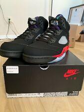 Nike Air Jordan TOP 3 5 Men Shoes Fire Red Metallic Black US Size 11.5 DS OG ALL