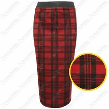 Unbranded Checked Party Regular Size Skirts for Women