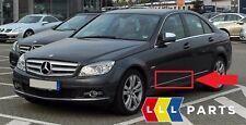 NUOVO Originale Mercedes Benz MB Classe C W204 Porta Anteriore Sinistra Chrome Trim Stampaggio
