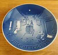 1979 Bing & Grondahl B&G White Christmas plate 7 inch plate Denmark