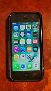 Apple iPhone 5 - 16GB - Black & Slate (Unlocked) A1429 (CDMA + GSM) with 2 Cases