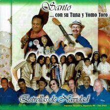 Santo con  Su Tuna y Yomo Toro Estrellas de Navidad  BRAND  NEW SEALED CD