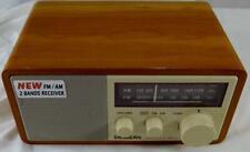 Sangean WR-11 Wood Cabinet AM/FM Table Top Radio