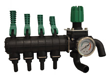 Boom Sprayer Valve 4 tap outlet with Bypass and Pressure control.