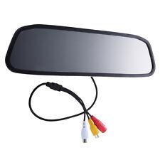 """S2 Rueckfahr 4,3 """"TFT-Farb-LCD-Spiegel-Monitor F-Auto, Rueckfahrkamera"""