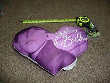 Justin Bieber Heart Shaped Pillow
