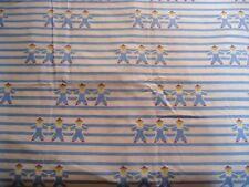 "coupon tissu  "" petits marins ""   78 X 100 cm"