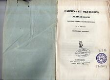 carmina et orationes damiani bacchi canonici ecclesiae faliscodunensis