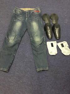 Kevlar Reinforced Motorcycle Jeans