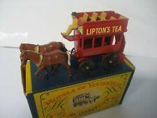 Matchbox Lesney Yesteryear Y-12 Lipton's Horse Drawn Bus, boxed