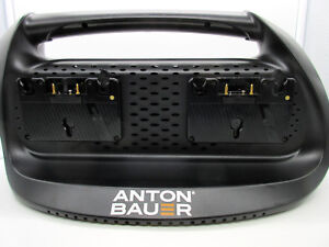 Anton Bauer Performance Series Quad Charger Gold Mount 8475-0119