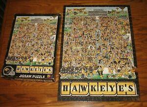 Vintage Nile Kinnick Stadium Iowa Hawkeyes Football John Holladay Jigsaw Puzzle