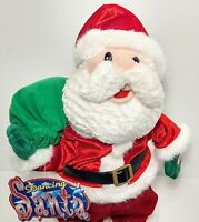 Dancing Singing Santa is Coming to Town Beverly Hills Teddy Bear Co. Orig Tags