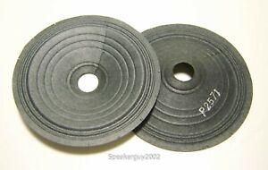 """Pair Vintage 4"""" Paper Cones - Speaker Parts - P2571 -- CS"""