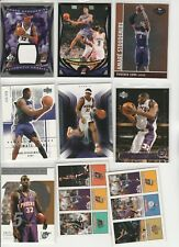 AMARE STOUDEMIRE Lot (66) DIFFERENT GAME USED RELIC 11 #'D 15 INSERTS 4 RC'S