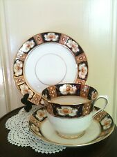 Royal Albert Antique China Trio Cup Saucer Plate Heirloom, Imari Great Condi.