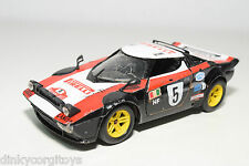 POLISTIL S-71 S 71 S71 LANCIA STRATOS RALLY BLACK EXCELLENT CONDITION