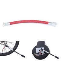 Bike Inflate Pump Hose Adapter Needle Valve Football Basketball Air Bed Tyre  VG