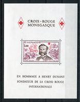 Monaco Block 13 postfrisch 1358 Motiv Rotes Kreuz Dunant MNH