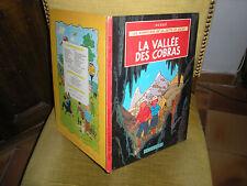 JO ZETTE ET JOCKO N°5 LA VALLEE DES COBRAS -EDITION 1965 4e PLAT B35 BIS(TINTIN)