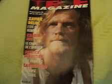 """""""TELE MAGAZINE N°2129 - 1996"""" Xavier DELUC, Mireille DARC, Marie-Jose NAT"""