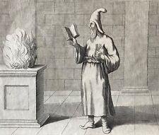 Zoroastre grand prêtre Gaures Perse Bernard Picart 1723 XVIIIe zoroastrisme Iran