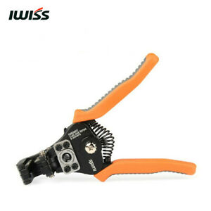 IWISS IWS-0822 Wire Stripper Cable Cutter Tool STRIPPING AWG 8-22 WIRE