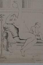 Lot de 2 gravures XIXe, Diaz de la Pena. Barbizon. Engraving, radierung. 19th.