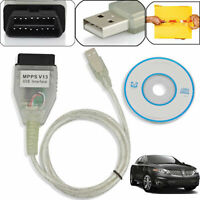 SMPS MPPS K+CAN V13 Chip Tuning Power Auto ECU Tuning Car Remap OBD2 OBD Cable
