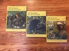 The Wonders Of Life On Earth 3 Vintage Life Books 1961 Lot Set Barnett