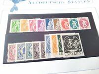Bayern Abschiedsserie 1920 (Mi.-Nr.: 178-195) kompl.Ausg. (18 W.) ** postfrisch