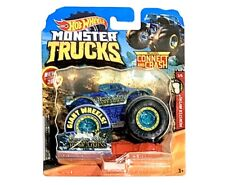 Hot Wheels 2019 Monster Trucks NESSIE-SARY ROUGHNESS 11/50 - 1:64 Scale - NEW