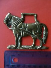 Horse Brass Old Shire Horse