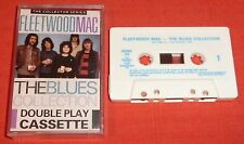 FLEETWOOD MAC - UK DOUBLE PLAY CASSETTE TAPE - THE BLUES COLLECTION