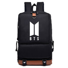 KPOP BTS Backpack Bangtan Boys Shoulder Bag SUGA J-HOPE JIMIN V JIN Bookbag