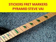 FRET MARKERS INLAY PYRAMID JEM STEVE VAI VISIT VISIT OUR STORE WITH MORE MODELS