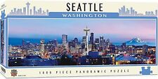 Seattle Washington State 1000 piece panoramic jigsaw puzzle 990mm x 330mm  (mpc)