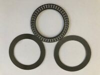 1 set AXK110145 Thrust Needle Bearing 110x145x 4 mm with 2 Washers
