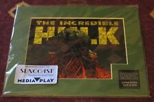Incredible Hulk Limited 1st Edition Laser Cel 1315/2000 w/ Cert of Authenticity