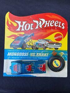 Hot Wheels Original Redline MONGOOSE WITH CARD